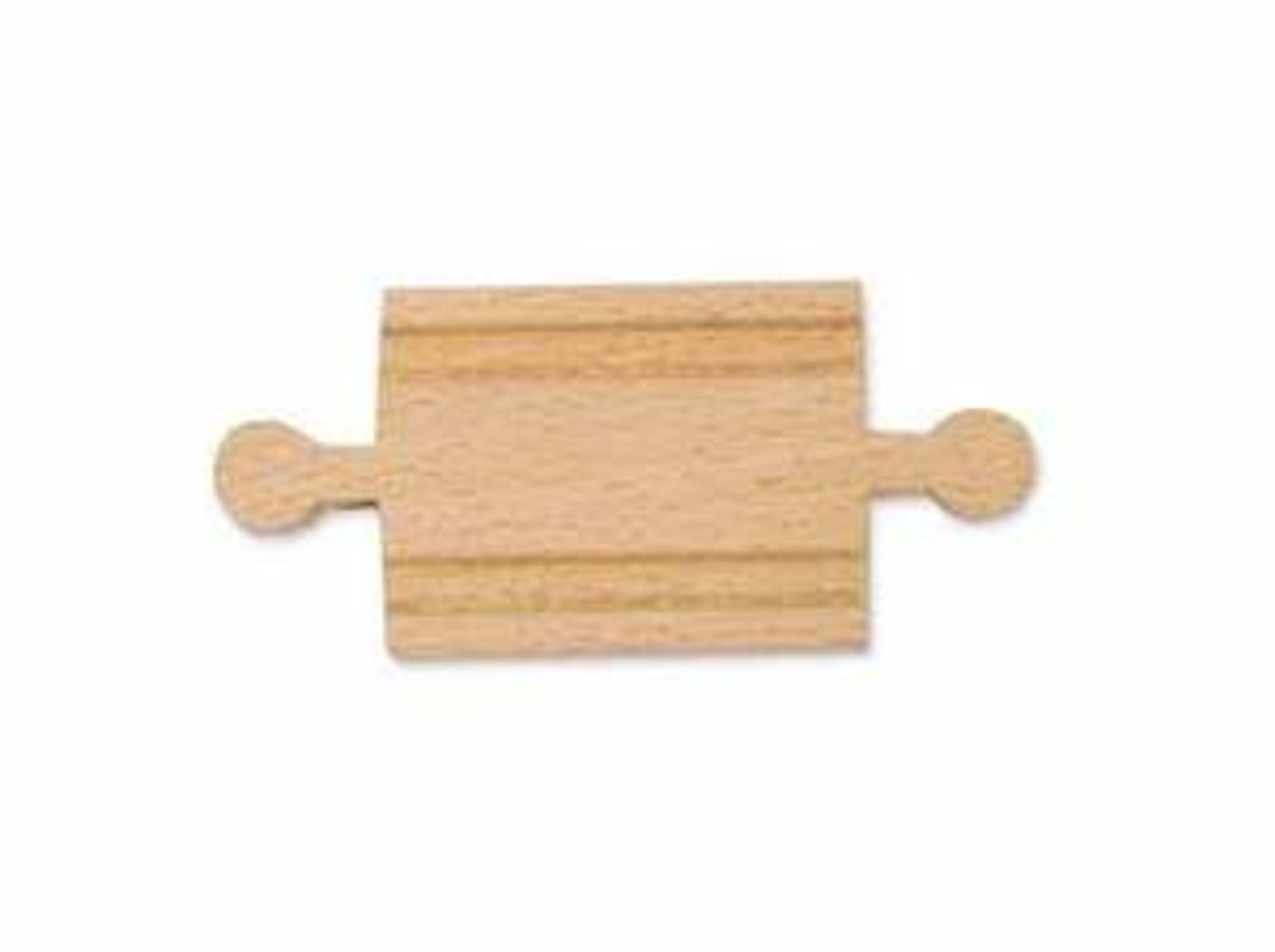 """2"""" Wooden Straight Track - Male (6 pack)"""