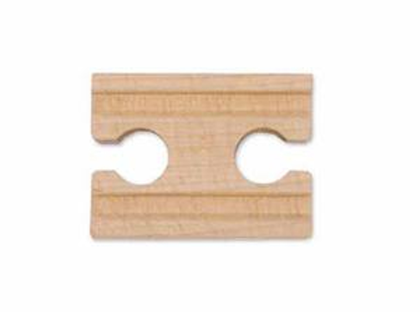 """2"""" Wooden Straight Track - Female (6 pack)"""