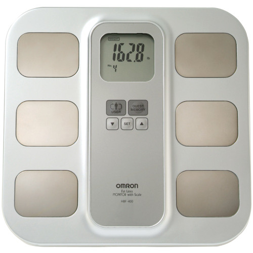OMRON HBF-400 Full-Body Sensor Body Composition Monitor with Scale