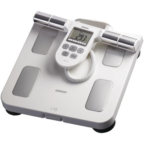 OMRON HBF-510W Full-Body Sensor Body Composition Monitor & Scale (White)