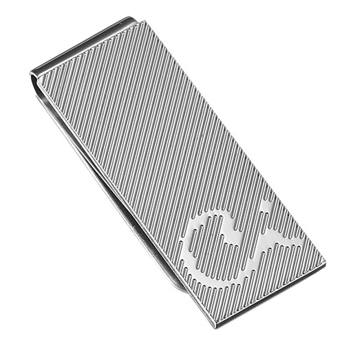 Caseti Grace Stainless Steel Money Clip
