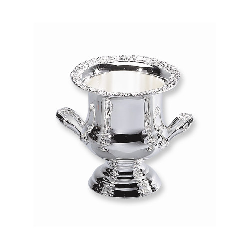 Silver-plated Antiqued Wine Cooler - Engravable Personalized Gift Item