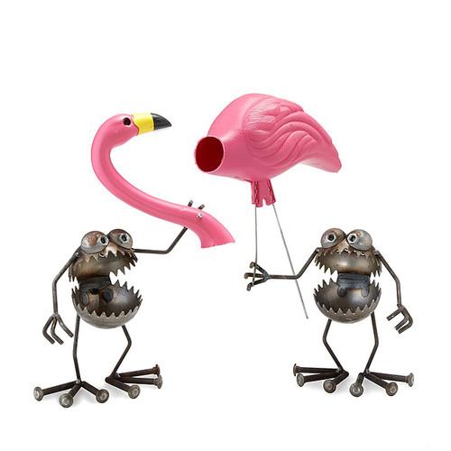 Flamingo-Away Sculpture