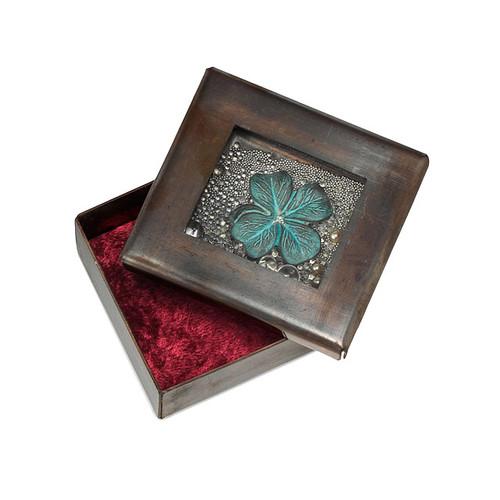 Luck Copper Reliquary Box