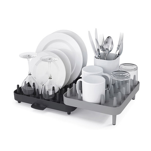 Adjustable 3 Piece Dish Rack