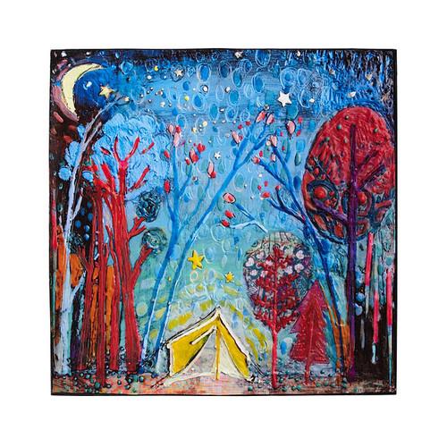 Night Under The Stars Art Block