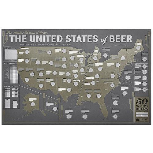 United States Beer Tasting Map