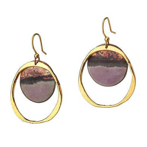 Golden Sunset Earrings