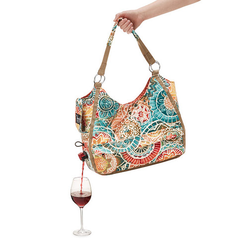 Wine Dispensing Travel Tote