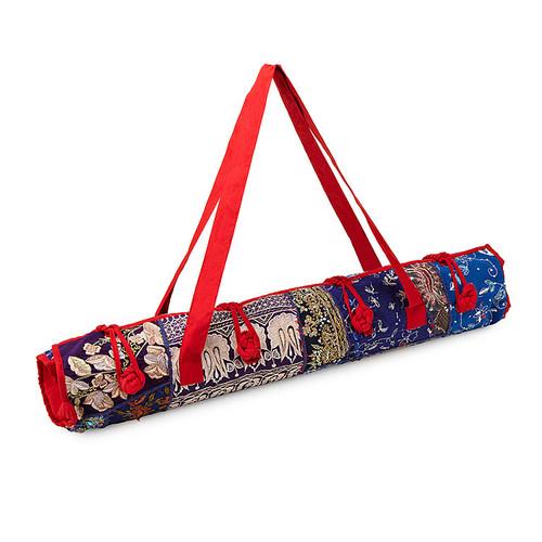 Upcycled Sari Yoga Bag