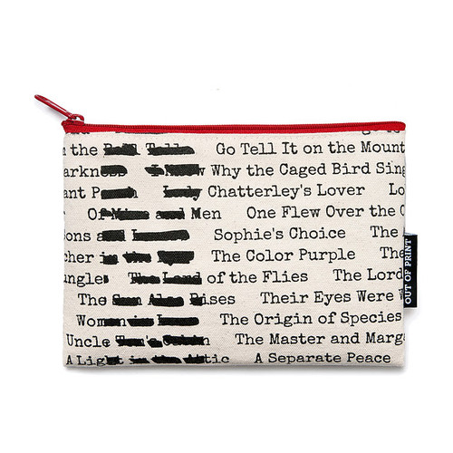 Cosmetic Pouch - Banned Books