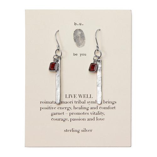 Live Well Earrings