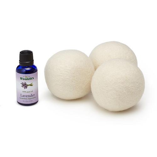 Woolzies Dryer Balls & Lavender Oil