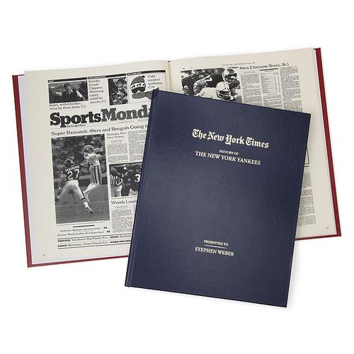 New York Times Custom Sports Book