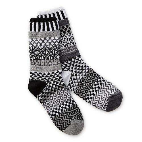 Midnight Mismatched Socks