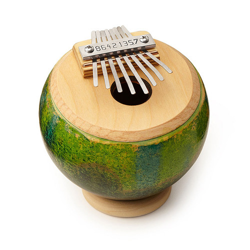 Cannonball Gourd Thumb Piano