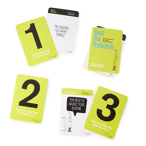 Boost Your Productivity Tip Cards