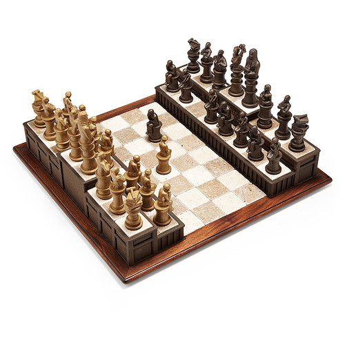 Approach The Bench Chess Set