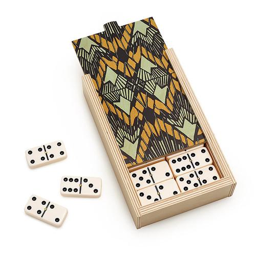 Deco Dominoes Set