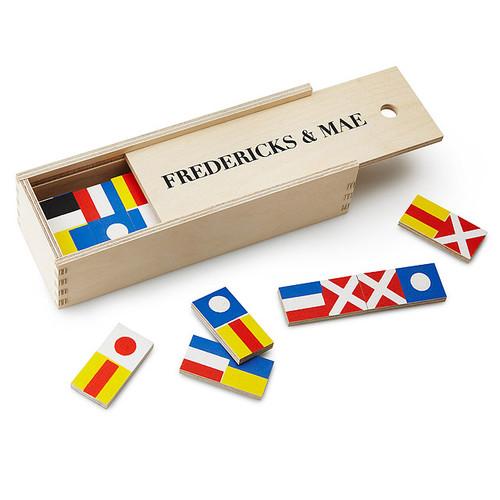 Nautical Flag Dominoes