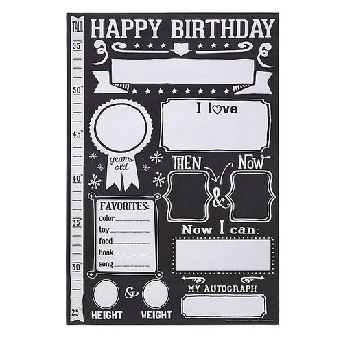 Birthday Memory Poster