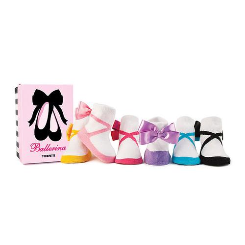 Baby Ballerina Socks - Set Of 6