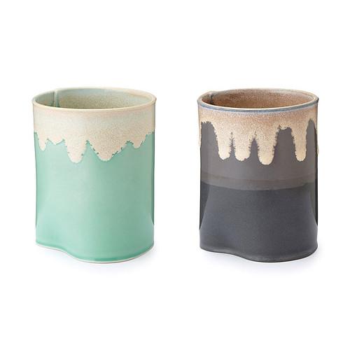 Porcelain Drip Landscape Cup
