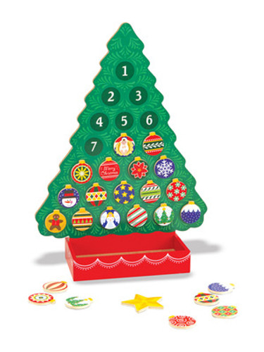 Wooden Advent Calendar - Countdown to Christmas