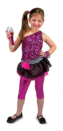 Rock Star Role Play Costume Set