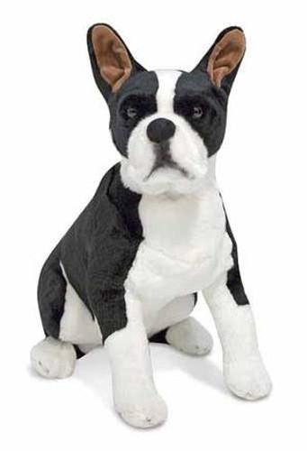 Boston Terrier Dog Giant Stuffed Animal