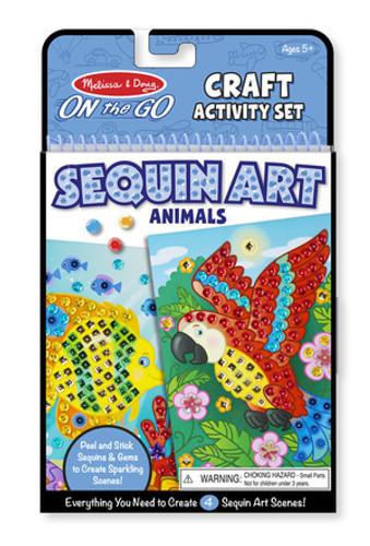 On-the-Go Crafts - Sequin Art - Animals