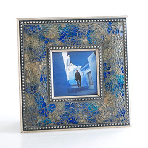 4X4 Fes Crushed Mosaic Picture Frame