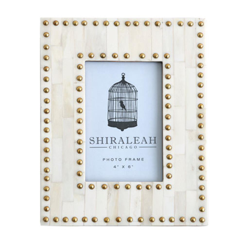 "4"" X 6"" Studded Picture Frame"