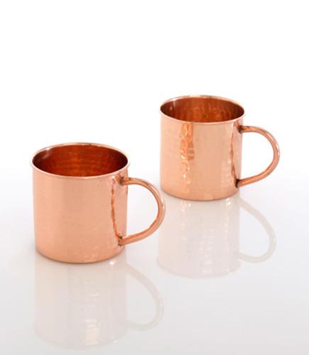 Boris Hammered Copper Mug