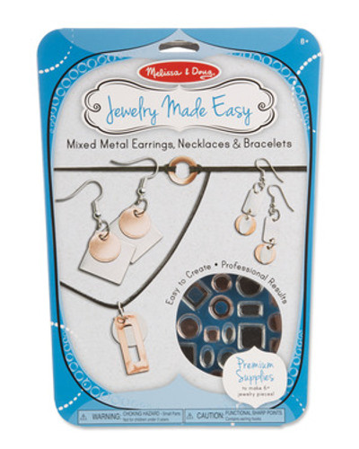 Jewelry Made Easy - Mixed Metal Earrings Necklaces & Bracelets