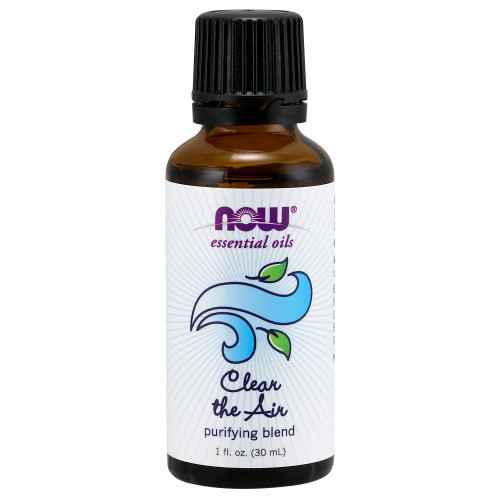 NOW FOODS CLEAR THE AIR ESSENTIAL OIL BLEND