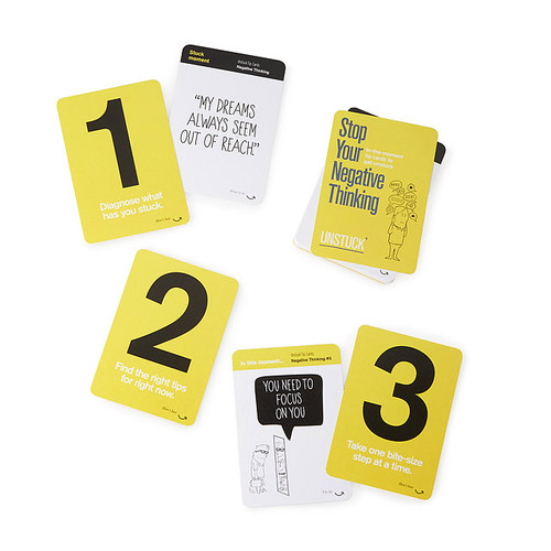 Stop Your Negative Thinking Tip Cards