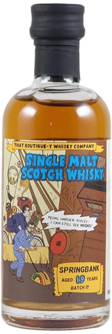 Boutique-y Springbank 19-Year-Old Miniature