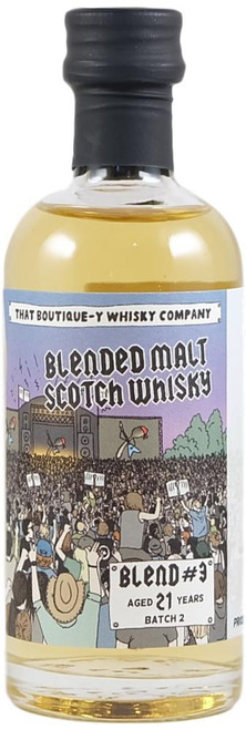 Boutique-y Blended Malt #3 21-Year-Old Miniature