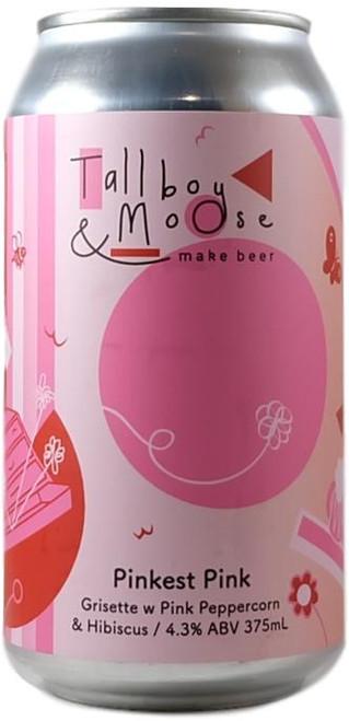 Tallboy and Moose Pinkest Pink Grisette