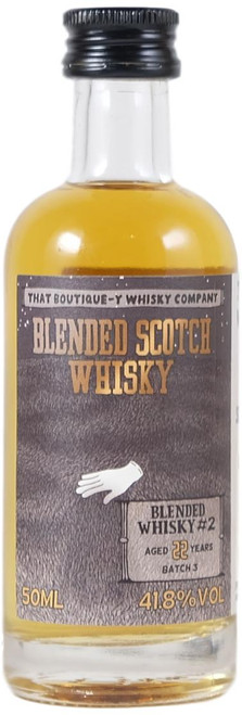 Boutique-y Blended Whisky #2 22-Year-Old Batch 3 Miniature