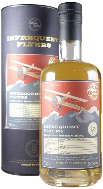 Infrequent Flyers Undisclosed Islay 2006 12-Year-Old Single Cask
