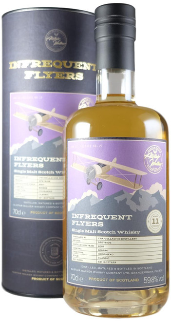 Infrequent Flyers Craigellachie 2007 11-Year-Old Single Cask