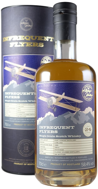 Infrequent Flyers Port Dundas 1985 24-Year-Old Single Cask