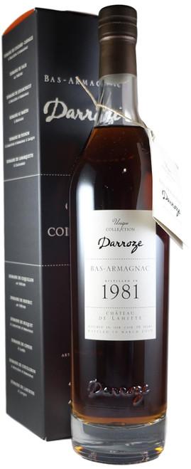 Darroze 1981 Lahitte Bas Armagnac
