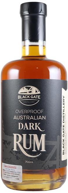 Black Gate Overproof Sherry Cask Rum BG045/52