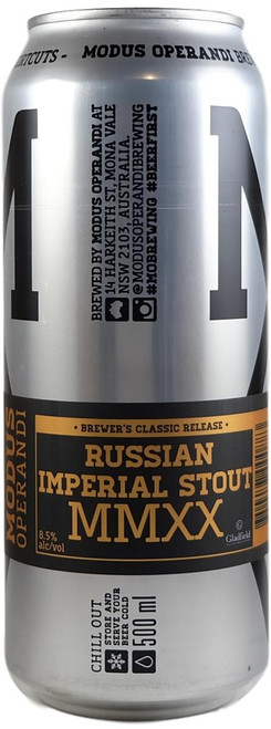 Modus Operandi Russian Imperial Stout MMXX 500ml