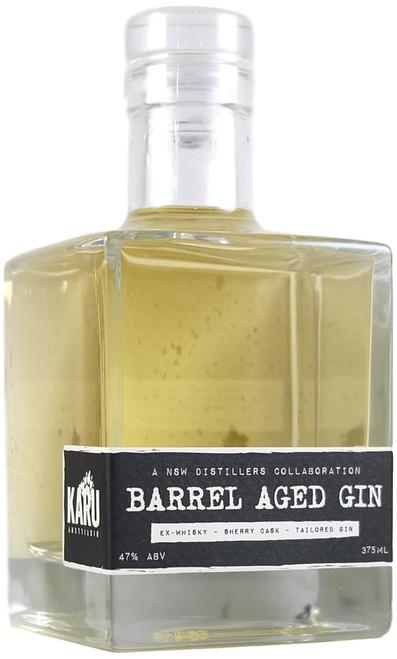 Karu x Craft Works Whisky Barrel Aged Gin