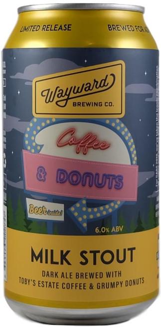 Wayward Coffee & Donuts Milk Stout