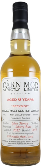 Carn Mor Strictly Limited Glen Moray 6-Year-Old